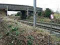 Bridge over railway near Marston Green - geograph.org.uk - 1768809.jpg