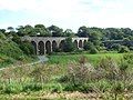 Bridges over the North Esk near Kinnaber - geograph.org.uk - 512146.jpg