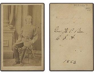 Hamilton P. Bee - Brigadier General H P Bee, 1863.