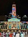 Brisbane City Hall light projection show 2018, 07.jpg