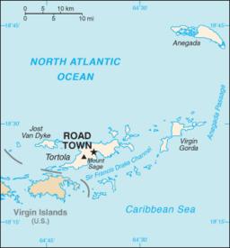 Charlotte Amalies beliggenhed