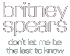Logo del disco Don't Let Me Be the Last to Know