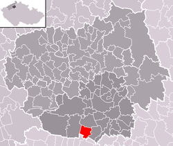 Location of Bříza