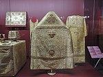 Brocade church clothing for Nicholas II's coronation (1896, Kremlin museum) by shakko 01.JPG