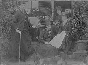 Thomas Peers Williams - Madge, Nina and Blanche Peers-Williams