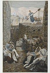 James Tissot: He Who Winnows His Wheat