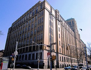 Brooklyn Technical High School - From the corner of DeKalb Avenue and Fort Greene Place