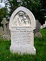 Brusher Mills' gravestone - geograph.org.uk - 170411.jpg