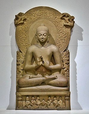 Gautama Buddha - A statue of the Buddha from Sarnath, Uttar Pradesh, India, 4th century CE