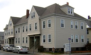 Building at 1-7 Moscow Street - Image: Building at 1 to 7 Moscow Street Quincy MA