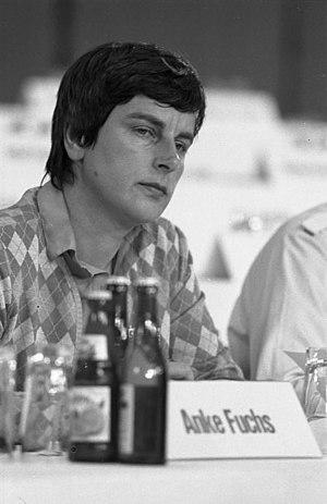 Anke Fuchs - Anke Fuchs in 1982
