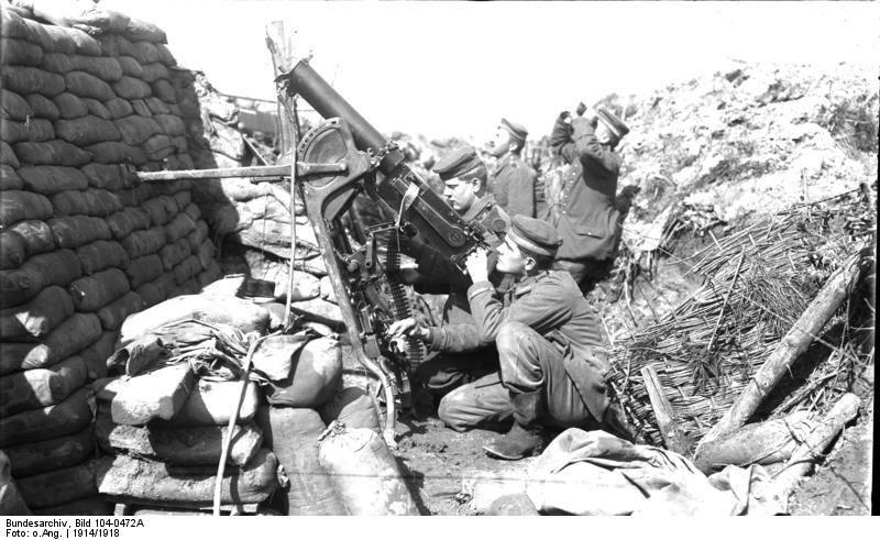 Bundesarchiv Bild 104-0472A, Flak-MG-Stellung