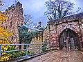 """Burg Hardenberg (Nörten-Hardenberg)Die Burg wurde durch das Erzbistum Mainz gegründet, um zwei Handelswege zu überwachen. Um 1101 wurde die befestigte Anlage erstmals als """"Vestes Haus"""" beurkundet. - panoramio.jpg"""