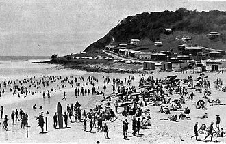 Gold Coast, Queensland - Burleigh Heads circa 1939