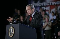 Bush encourages renewal of Patriot Act 2005.jpg