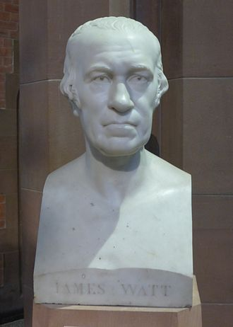 James Watt - Bust of Watt in the Scottish National Portrait Gallery