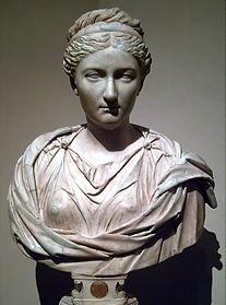 Bust of Vibia Aurelia Sabina, Marcus' daughter