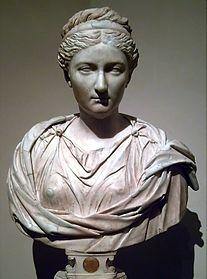 Busto de Vibia Aurelia Sabina, filha de Marcus
