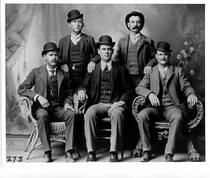 Butch Cassidy as part of the Wild Bunch at For...
