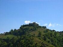 Buzim Castle seen from Buzim, Bosnia-Herzegovina.JPG