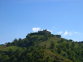 Buzim Castle seen from Buzim, Bosnia-Herzegovina.JPG