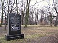 Były cmentarz ewangelickiego lazaretu im. Najświętszej Marii Panny przy alei Zwycięstwa w Gdańsku.JPG