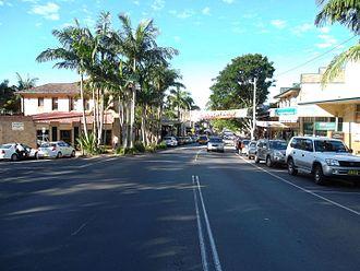 Bangalow - Image: Byron Street, Bangalow NSW 2014