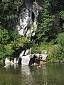 Cèze Terris Plage Jumping Rocks 9151.JPG