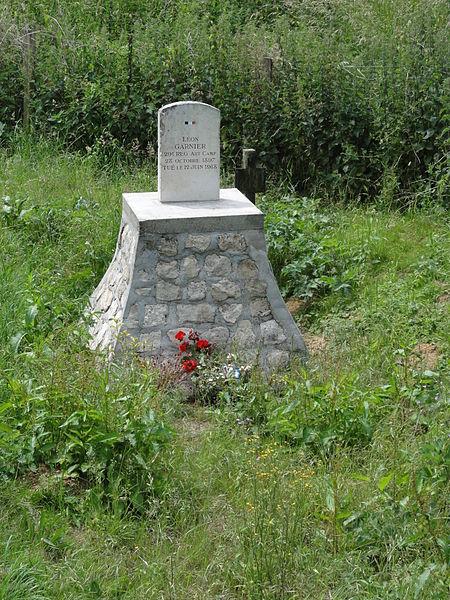Cœuvres-et-Valsery (Aisne) mémorial Leon Garnier