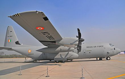 A C-130 J tactical transport aircraft C-130 J.jpg