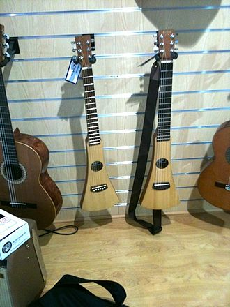 Travel guitar - Image: C.F. Martin Steel String & Classical Backpacker Guitar