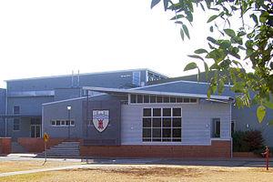English: Gymnasium, Bathurst campus, Charles S...