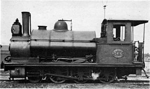 1876 in South Africa - CGR 1st Class 2-6-0ST