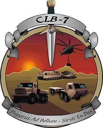 Logistics combat element - Image: C Lb 7 29palms