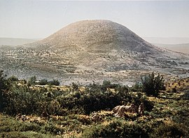 COLOR PHOTO OF MOUNT TABOR TAKEN IN THE LATE 19TH CENTURY BY FRENCH PHOTOGRAPHER, BONFILS. TSylvm TSb` msvp hmAh h19 SHl hTSlm hTSrpty bvnpys ASHr t`d bmTSlmD311-041.jpg