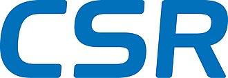 CSR (company) - Image: CSR plc logo Sept 2013
