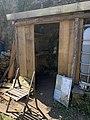 Cabane de jardin en construction à Saint-Rambert-en-Bugey (juin 2020).jpg