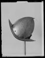 Cabasset, morion av spansk typ, päronhjälm. 1500-talets slut-1600-talets början - Livrustkammaren - 44951.tif