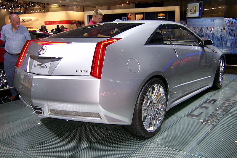 File:Cadillac CTS Coupe Concept rear.jpg