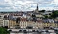 Caen Château de Caen Blick auf die Rue de Geôle 6.jpg