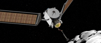 CAESAR (spacecraft) - Artist's concept of CAESAR obtaining a sample from comet 67P
