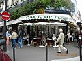 Cafe de Flore, Boulevard Saint Germain, Paris (2).jpg