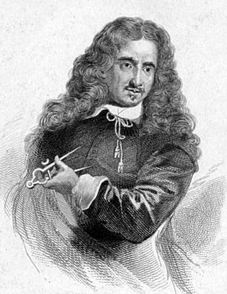 Caius Gabriel Cibber - Caius Gabriel Cibber, 19th-century engraving by William Camden Edwards