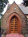 Caldy Church, main entrance.JPG
