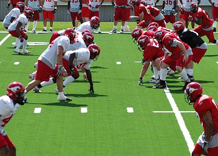 Calgary Stampeders training camp 2006.jpg