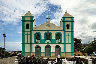 Calheta de São Miguel Settlement in Santiago, Cape Verde