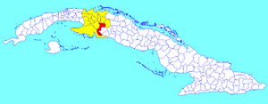 Calimete - Image: Calimete (Cuban municipal map)
