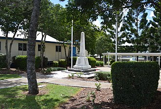 Calliope, Queensland - War memorial at Calliope, 2017