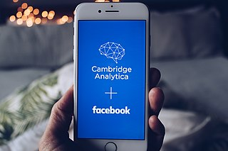 Facebook–Cambridge Analytica data scandal Scandal involving unconsented use of personal information on Facebook for political advertising.