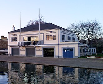 First and Third Trinity Boat Club - Image: Cambridge boathouses Trinity (First and Third)
